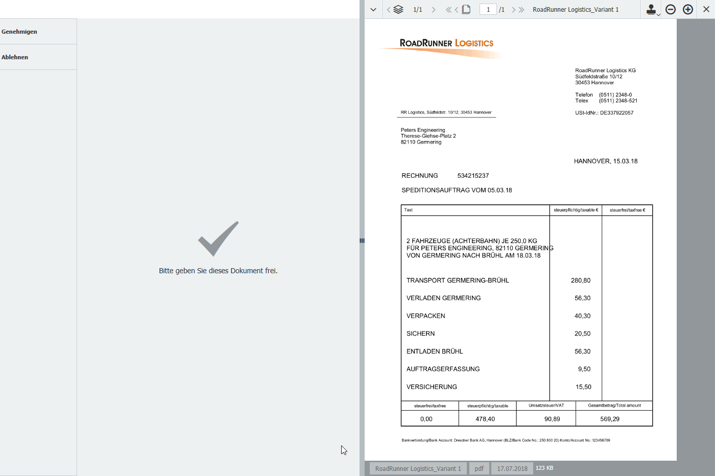 Simple Workflow Task | DocuWare SDK Documentation
